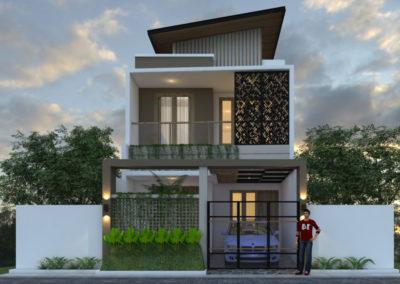 Desain Rumah 2 Lantai Ukuran Lahan 6 x 15 M2