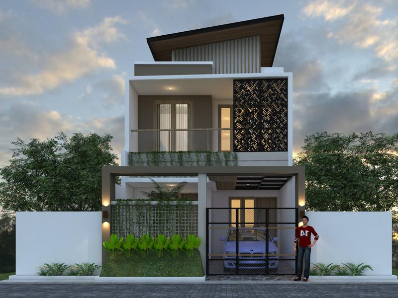 Desain Rumah 2 Lantai Ukuran Lahan 6 X 15 M2 Griya Impian