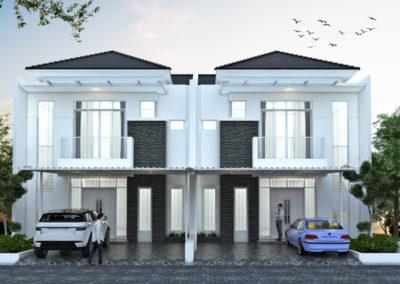 Desain Rumah 2 Lantai di Lahan 10 x 20 M2