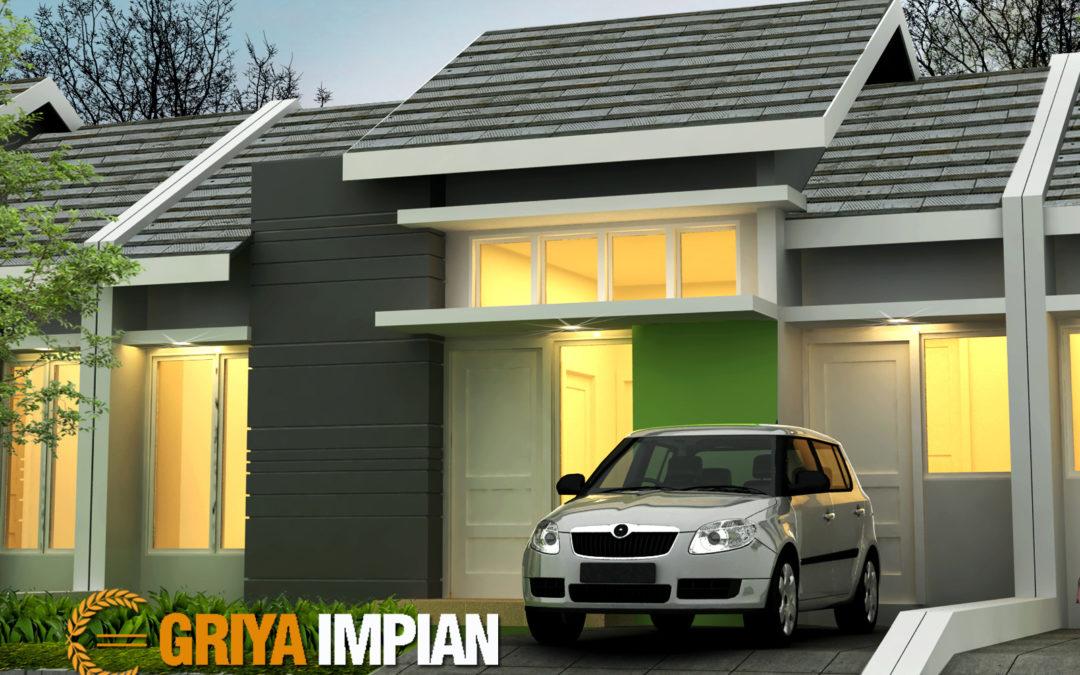 Desain Griya 1 Lantai di Lahan 8 x 13 M2 Bergaya Minimalis