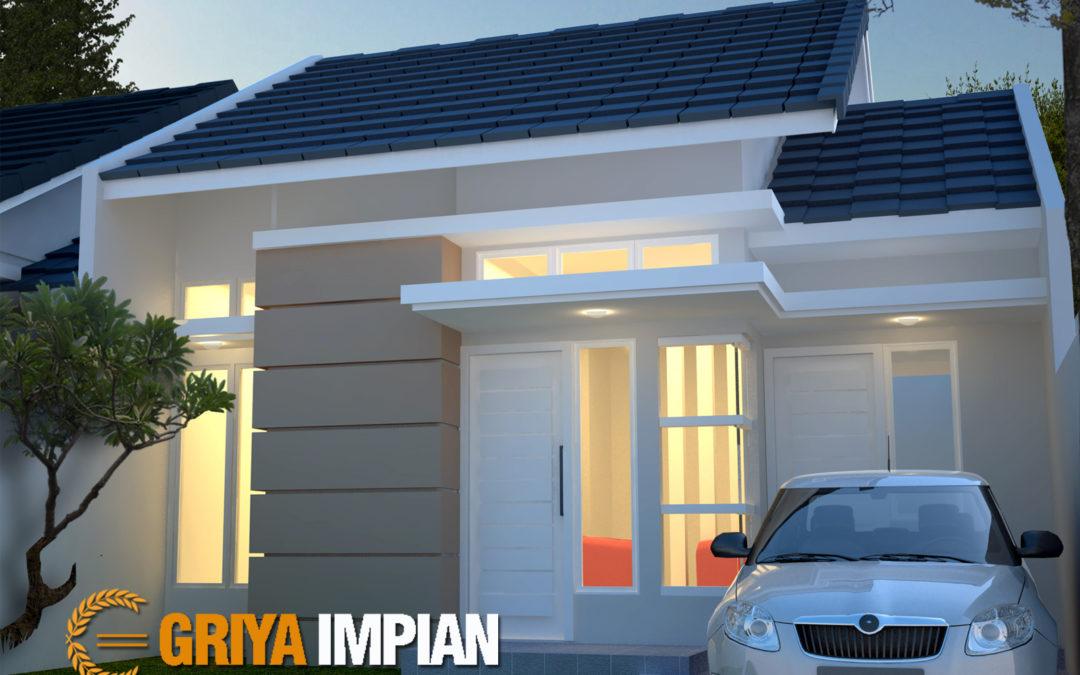 Desain Griya Mungil 1 Lantai di Lahan 8 x 15 M2 Bergaya Tropis Minimalis