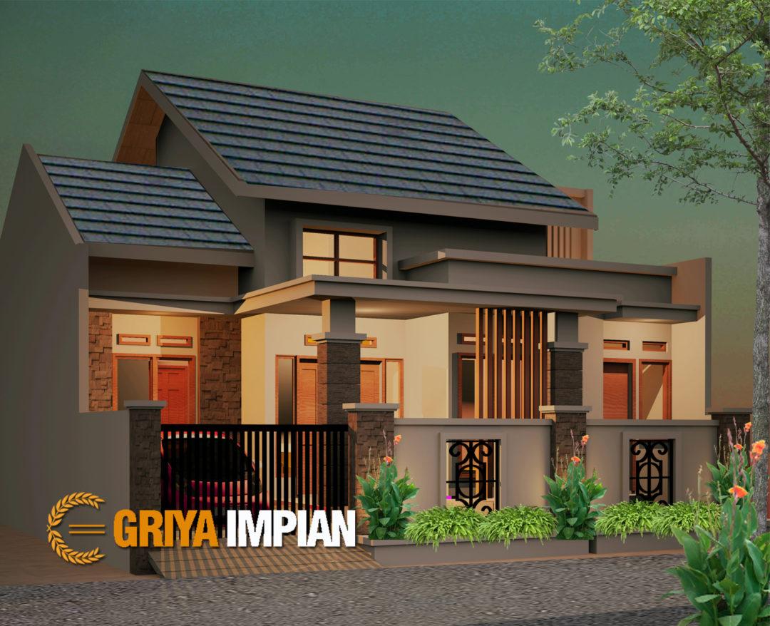 Desain Griya 1 5 Lantai Di Lahan 11 X 12 M2 Griya Impian