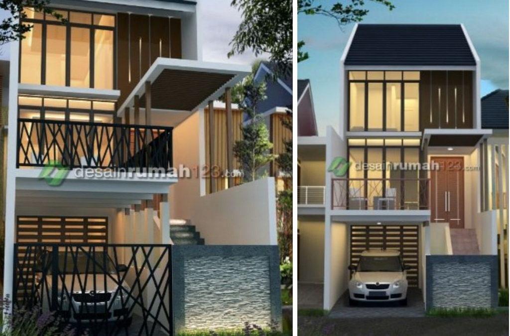 Model Desain Rumah yang Cocok untuk Lahan Sempit